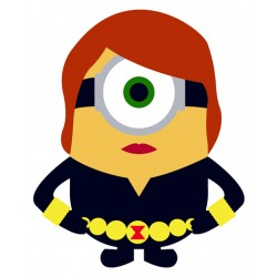 Black Widow Minion Color