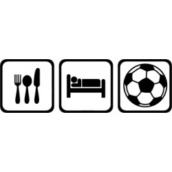 Eat, Sleep and Soccer