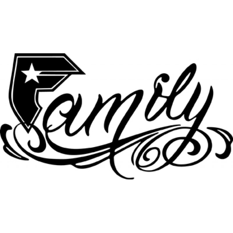 Famous Family Famous Stars And Straps Logo Green