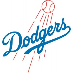 "Dodgers Logo "" 2 Colors"""